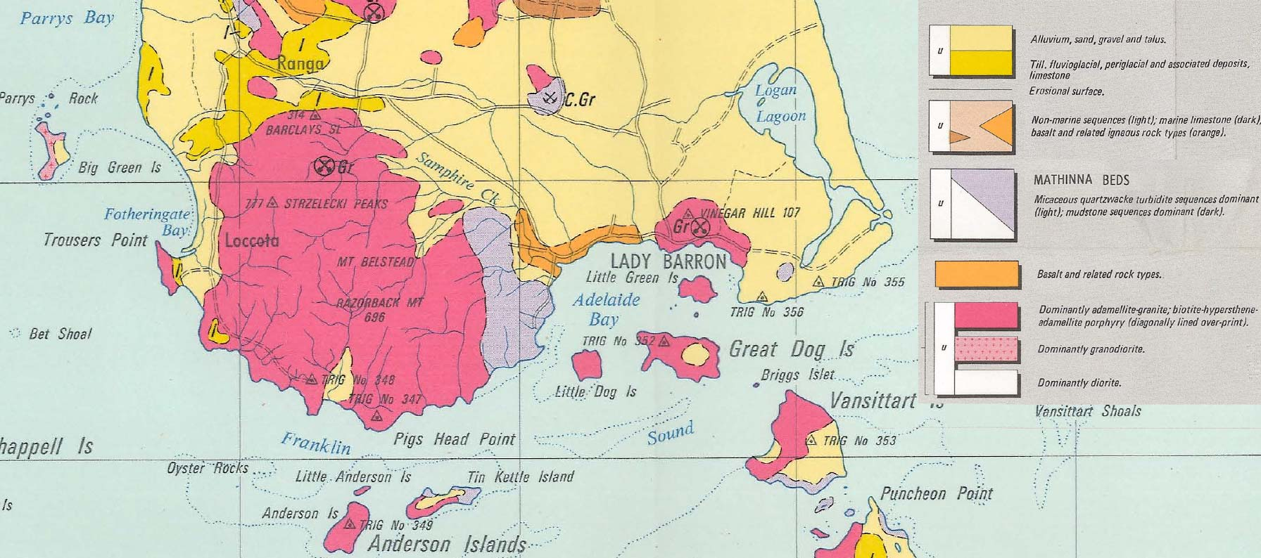 geological map